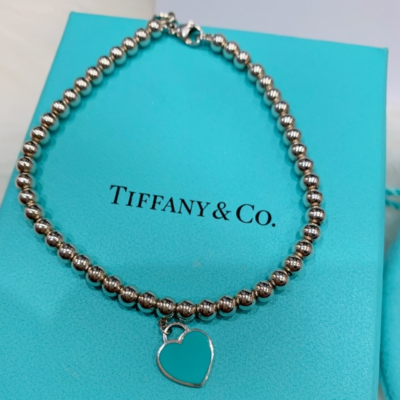 c7f2b7752 Tiffany & Co. Jewelry | Return To Tiffany Mini Heart Bead Bracelet ...